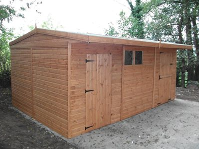 Stable Block and Tack Room Combo 18ft x 12ft (5.4x3.6m)
