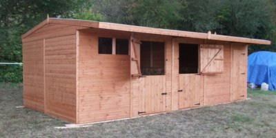 Stable Block and Tack Room Combo 24ft x 12ft (7.2x3.6m)